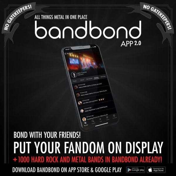メタルミュージック専門アプリ『bandbond』にAlphoenixが登場サムネイル