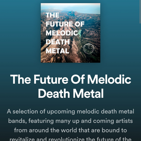 The Future Of Melodic Death Metalサムネイル